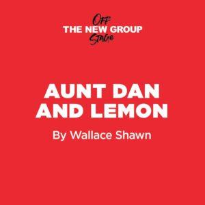Aunt Dan and Lemon title